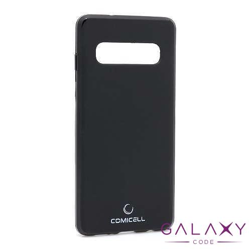 Futrola silikon DURABLE za Samsung G975F Galaxy S10 Plus crna