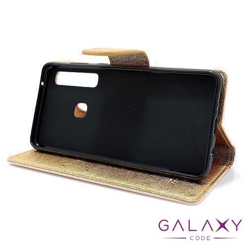 Futrola BI FOLD MERCURY za Samsung A920F Galaxy A9 2018 zlatna