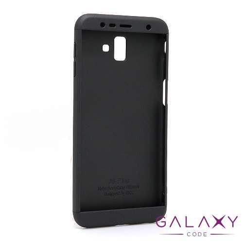 Futrola PVC 360 PROTECT za Samsung J610F Galaxy J6 Plus crna