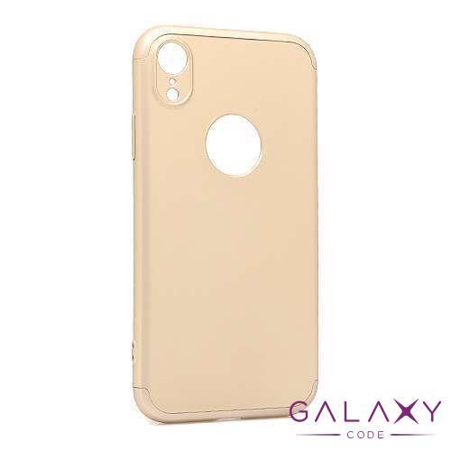 Futrola PVC 360 PROTECT za Iphone XR zlatna