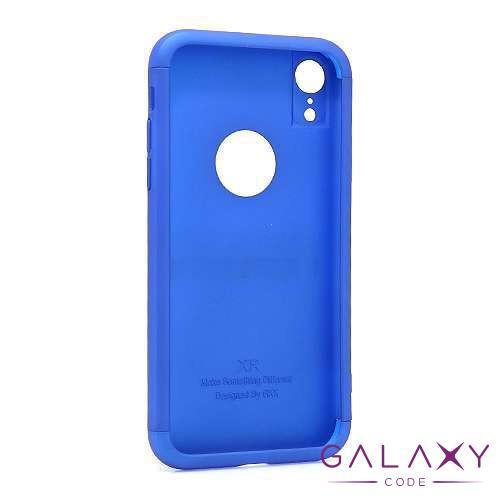 Futrola PVC 360 PROTECT za Iphone XR plava