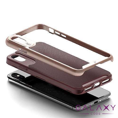 Futrola Wavelenght za Iphone XS Max bordo-roze
