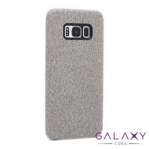Futrola CANVAS za Sasmung G950F Galaxy S8 svetlo siva