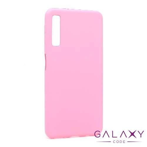 Futrola silikon DURABLE za Samsung A750F Galaxy A7 2018 mat roze