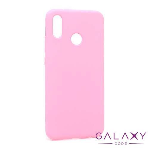 Futrola silikon DURABLE za Huawei P20 Lite mat roze