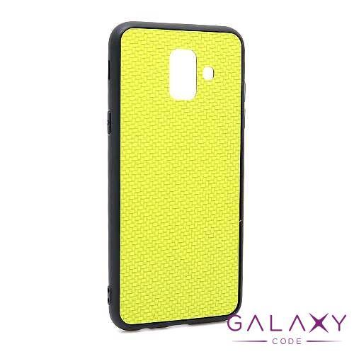 Futrola Braided za Samsung A600F Galaxy A6 2018 zelena