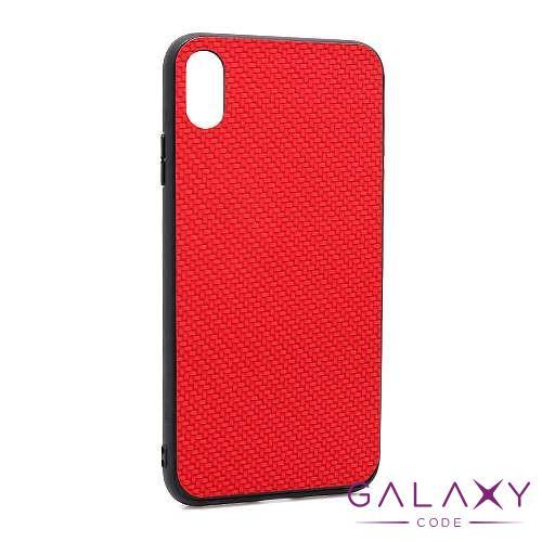 Futrola Braided za Iphone XS Max crvena
