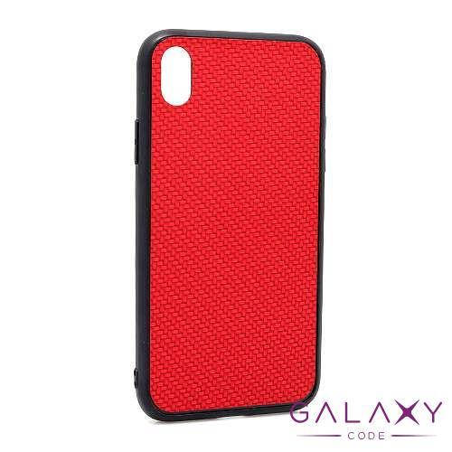 Futrola Braided za Iphone XR crvena