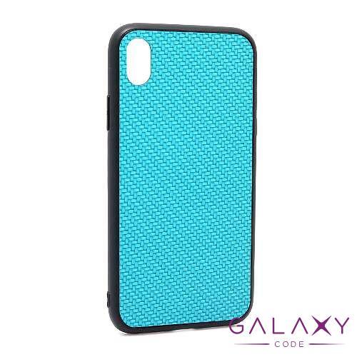 Futrola Braided za Iphone XR plava