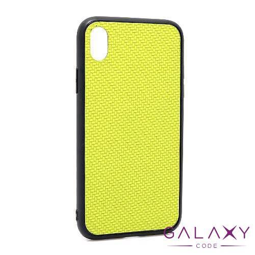 Futrola Braided za Iphone XR zelena