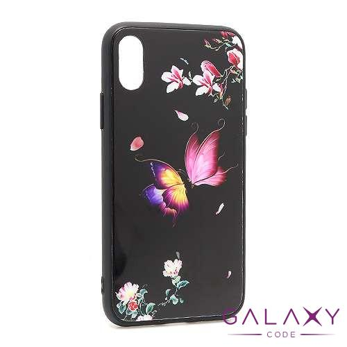 Futrola Butterfly za Iphone XS crna