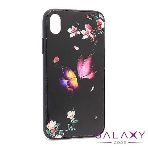 Futrola Butterfly za Iphone XR crna