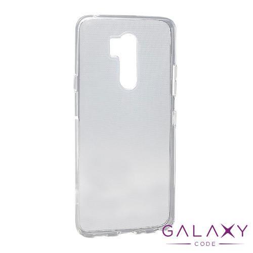 Futrola ULTRA TANKI PROTECT silikon za LG G7 Fit providna (bela)