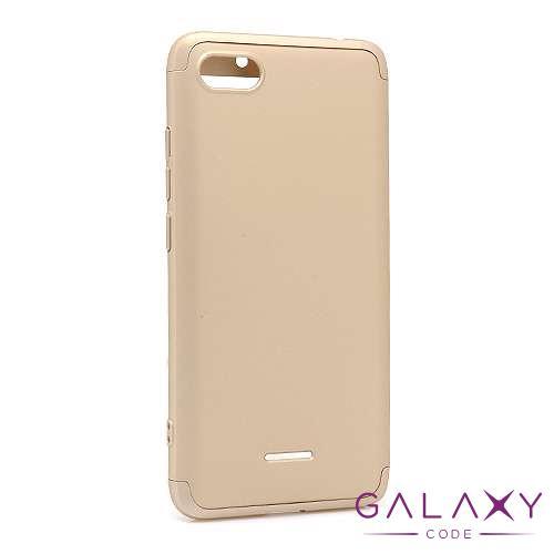 Futrola PVC 360 PROTECT za Xiaomi Redmi 6A zlatna