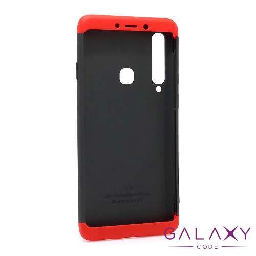 Futrola PVC 360 PROTECT za Samsung A920F Galaxy A9 2018 crno-crvena