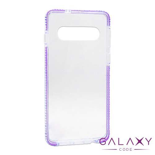 Futrola Color frame za Samsung G973F Galaxy S10 ljubicasta