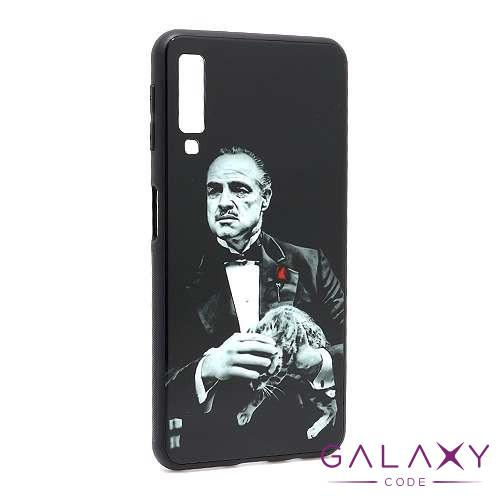 Futrola GLASS HD za Samsung A750F Galaxy A7 2018 DZ15