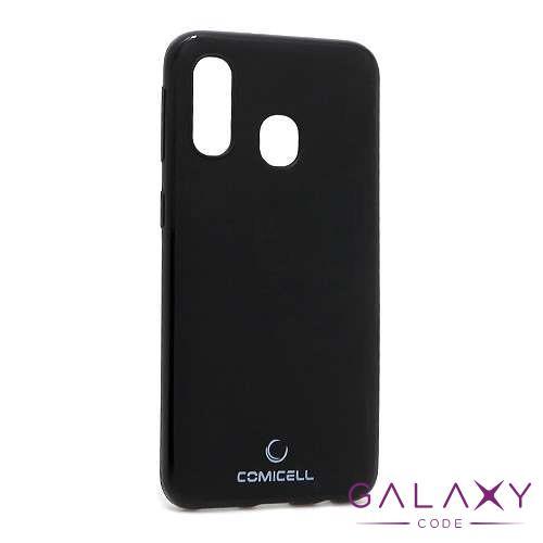 Futrola silikon DURABLE za Samsung A405F Galaxy A40 crna