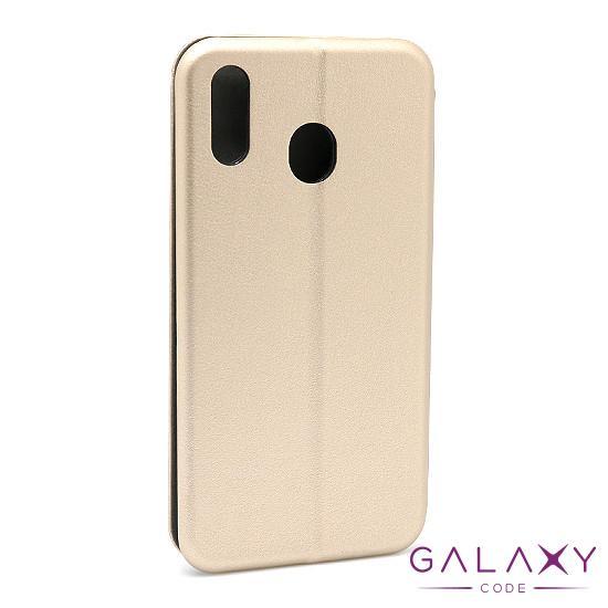 Futrola BI FOLD Ihave za Samsung M205F Galaxy M20 zlatna