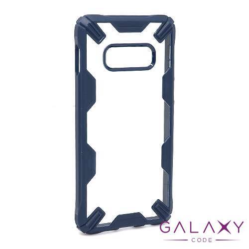 Futrola DEFENDER CLEAR za Samsung G970F Galaxy S10e teget