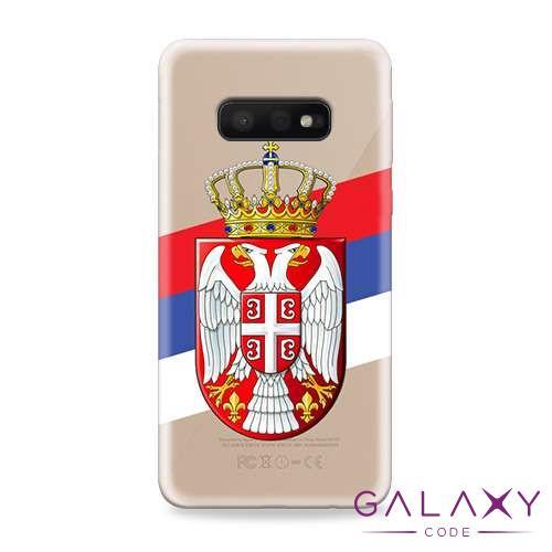 Futrola ULTRA TANKI PRINT CLEAR za Samsung G970F Galaxy S10e SRB09