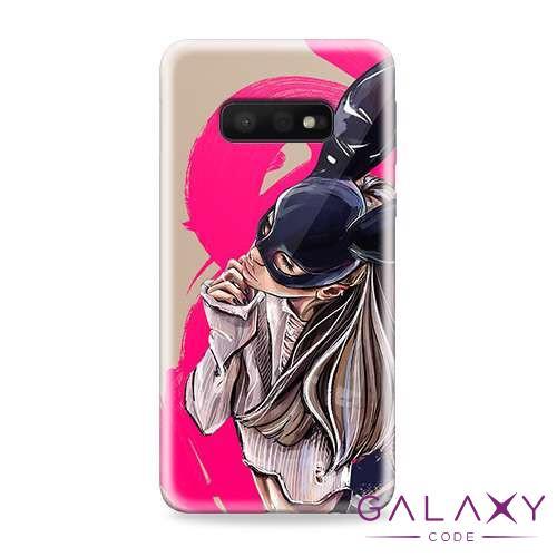 Futrola ULTRA TANKI PRINT CLEAR za Samsung G970F Galaxy S10e ND0097