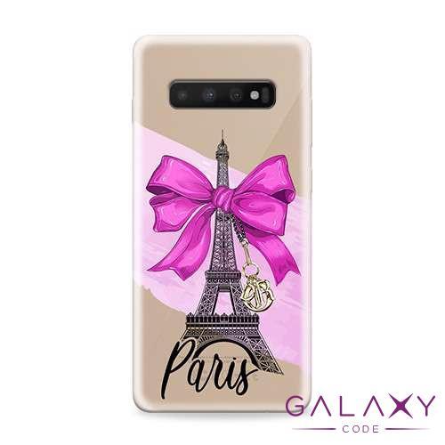 Futrola ULTRA TANKI PRINT CLEAR za Samsung G973F Galaxy S10 ND0084