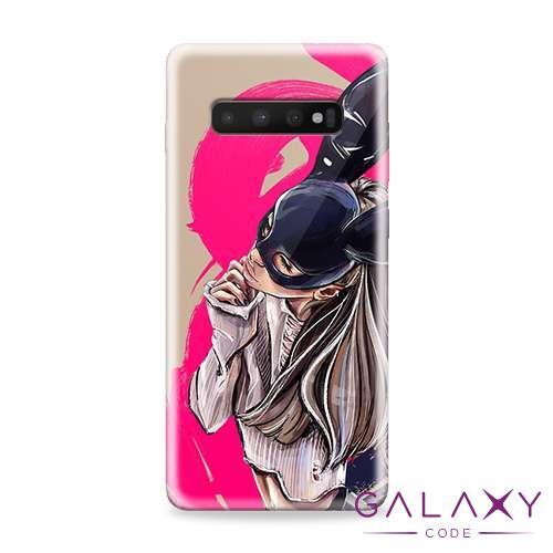 Futrola ULTRA TANKI PRINT CLEAR za Samsung G975F Galaxy S10 Plus ND0097