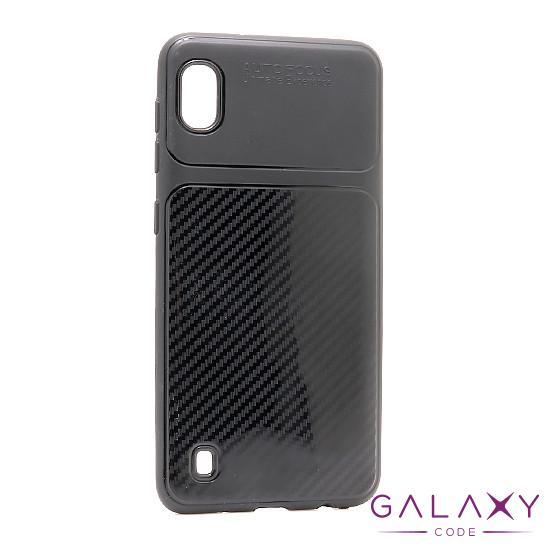 Futrola silikon ELEGANT CARBON za Samsung A105F Galaxy A10 crna