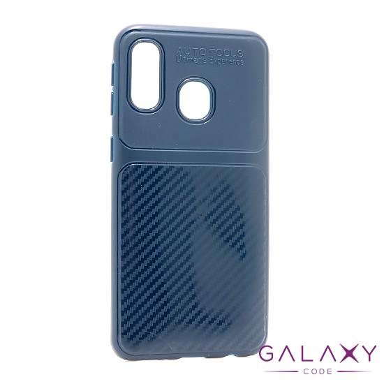 Futrola silikon ELEGANT CARBON za Samsung A405F Galaxy A40 crvena
