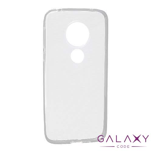 Futrola ULTRA TANKI PROTECT silikon za Motorola Moto G7 Play providna (bela)
