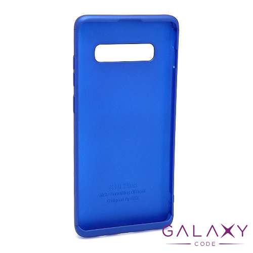 Futrola PVC 360 PROTECT za Samsung G973F Galaxy S10 plava