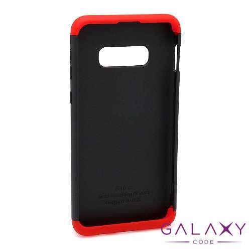 Futrola PVC 360 PROTECT za Samsung G970F Galaxy S10e crno-crvena