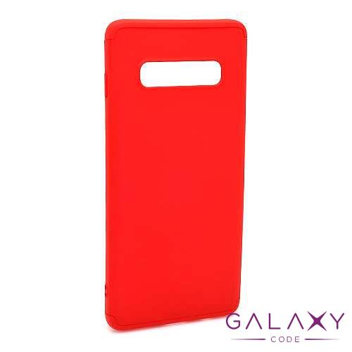 Futrola PVC 360 PROTECT za Samsung G975F Galaxy S10 Plus crvena