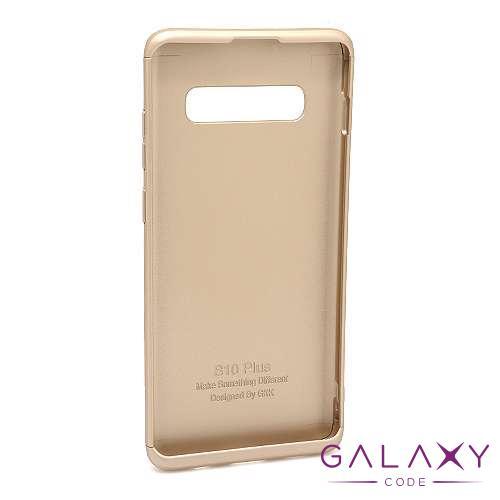 Futrola PVC 360 PROTECT za Samsung G975F Galaxy S10 Plus zlatna