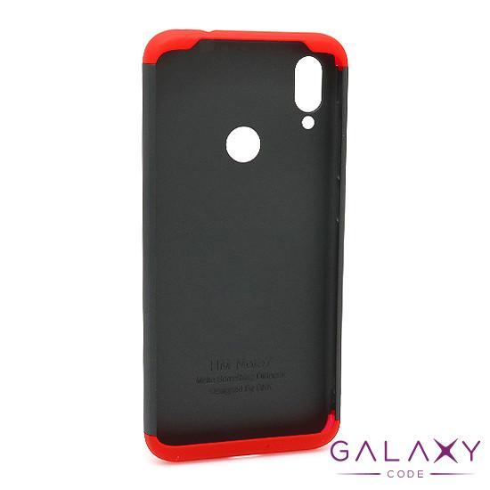 Futrola PVC 360 PROTECT za Xiaomi Redmi Note 7 crno-crvena