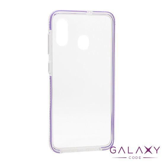 Futrola Color frame za Samsung A205F/A305F/M107F Galaxy A20/A30/M10s ljubicasta