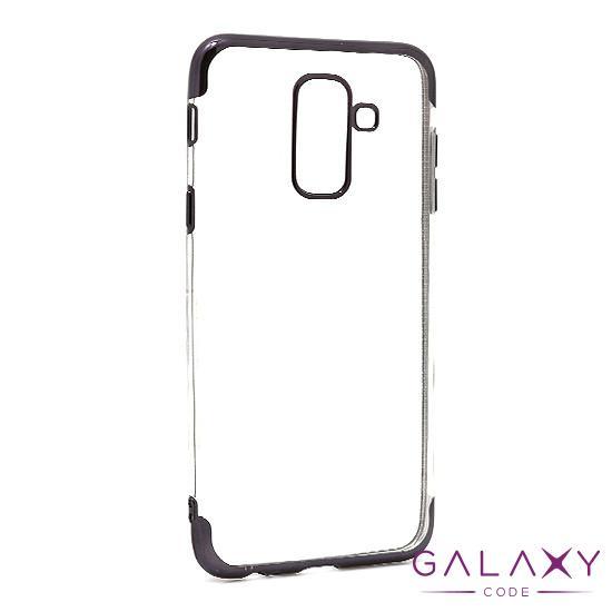 Futrola COLOR EDGE za Samsung A605G Galaxy A6 Plus 2018 crna