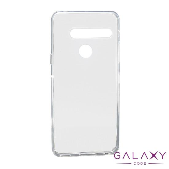 Futrola ULTRA TANKI PROTECT silikon za LG G8 providna (bela)