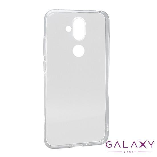 Futrola ULTRA TANKI PROTECT silikon za Nokia 8.1 Plus providna (bela)