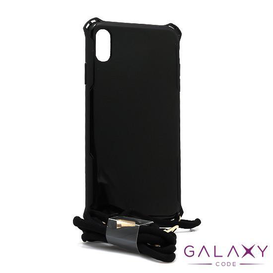 Futrola Summer color za Iphone XS Max crna