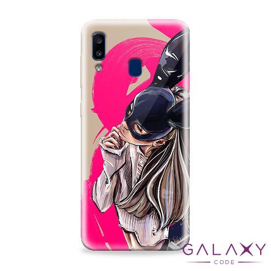 Futrola ULTRA TANKI PRINT CLEAR za Samsung A202F Galaxy A20e ND0097