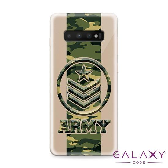 Futrola ULTRA TANKI PRINT CLEAR za Samsung G973F Galaxy S10 ND0108