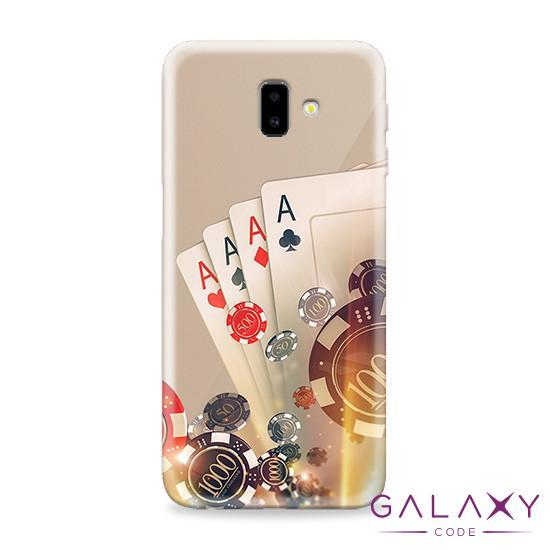 Futrola ULTRA TANKI PRINT CLEAR za Samsung J610F Galaxy J6 Plus ND0107