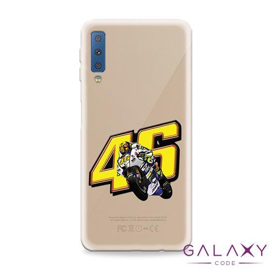 Futrola ULTRA TANKI PRINT CLEAR za Samsung A750F Galaxy A7 2018 ND0114
