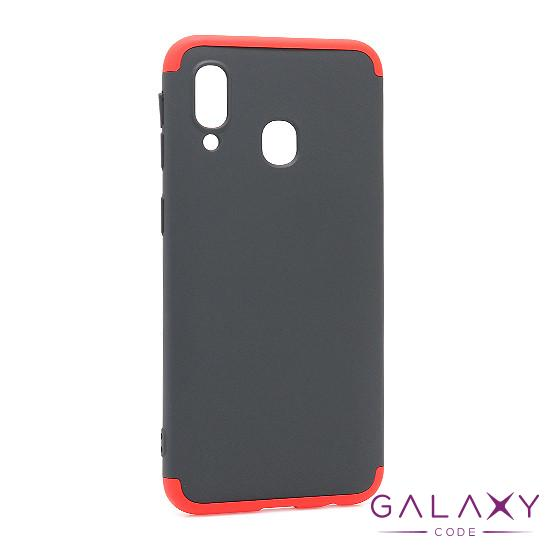 Futrola PVC 360 PROTECT za Samsung A405F Galaxy A40 crno-crvena