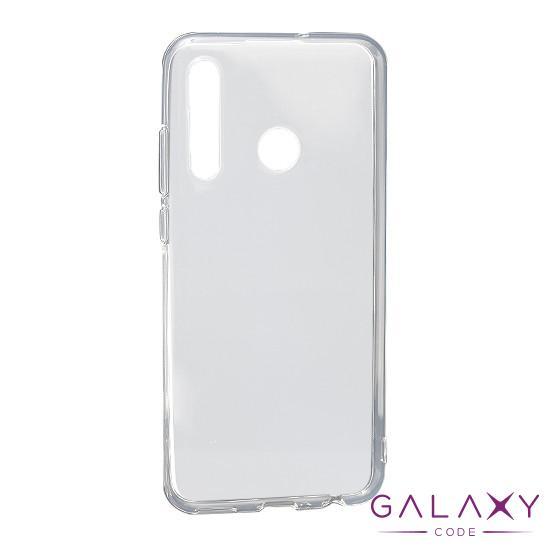 Futrola ULTRA TANKI PROTECT silikon za Huawei Enjoy 9S providna (bela)
