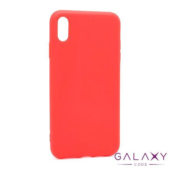 Futrola Softy za Iphone XS Max crvena