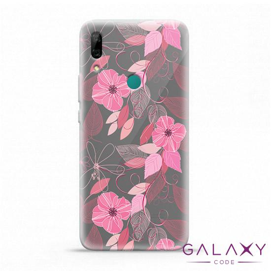 Futrola ULTRA TANKI PRINT CLEAR za Huawei P Smart Z ND0094