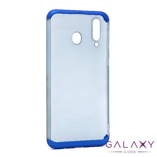 Futrola PVC 360 PROTECT NEW za Samsung A405F Galaxy A40 plava
